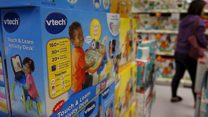 Datendiebstahl bei Spielzeugfirma: Hacker erbeuten bei VTech Daten von 6,4 Mio Kindern