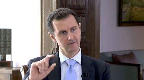 Lob für Putins Syrien-Einsatz: Anschläge von Paris scheinen Assad in die Hände zu spielen