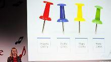 Viele Nadelstiche für Marissa Mayer.