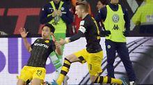 Dortmund träumt wieder vom Titel: Last-Minute-Wahnsinn: Kagawa rettet BVB