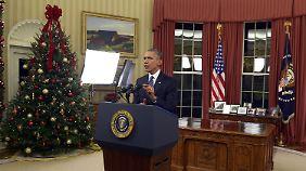 """Rede an die Nation: Obama: """"Wir werden den IS zerstören"""""""