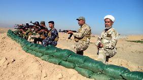 Im Irak kämpfen mehrere schiitische Milizen an der Seite der offiziellen Armee.