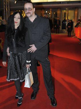 Alexander Hacke 2009 mit seiner Frau Danielle de Picciotto.