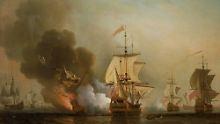 """Die spanische Galeone """"San José"""" sank 1708 vor der kolumbianischen Küste."""