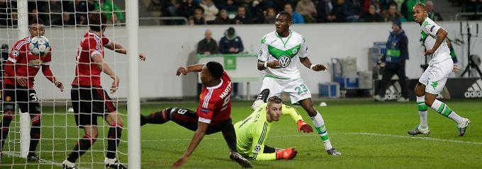 Sturmlauf ins CL-Achtelfinale: Wolfsburg feiert, Schweinsteiger weint