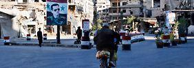 Nach jahrelangen Kämpfen ist die Altstadt von Homs in weiten Teilen zerstört.