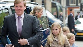 Kaum zu glauben, aber wahr: Leibwächterin von Prinzessin Amalia vergisst Pistole auf Klo
