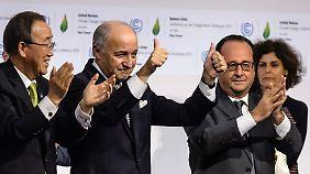 Völkerrechtlich verbindlich: 195 Nationen einigen sich auf historischen Weltklimavertrag