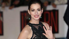 Promi-News des Tages: Anne Hathaway zieht sich vorläufig aus Hollywood zurück