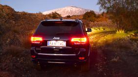 Jeep bedeutet auch immer ein bisschen Abenteuer.