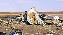 Flugzeugabsturz über Sinai: Ägypten sieht keine Hinweise auf Anschlag