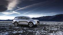 Ssangyong überrascht in Frankfurt mit dem Konzeptfahrzeug XLV-Air, einer seriennahen Studie auf eine Langversion des Mini-SUV Tivoli.