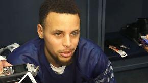 """Curry nach Warriors-Niederlage: """"Man vergisst, wie es sich anfühlt zu verlieren"""""""