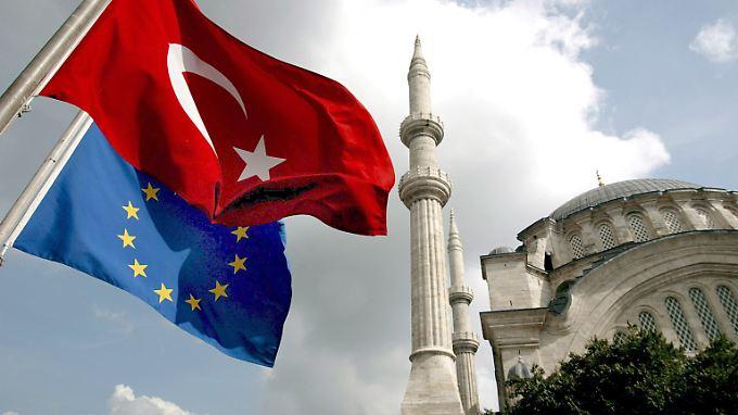 Seit über zehn Jahren verhandelt die EU mit der Türkei über einen Beitritt.