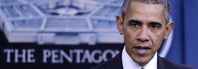 Bilanz nach 9000 Luftangriffen: Obama: IS verliert 40 Prozent seiner Gebiete