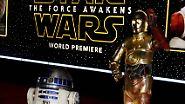 """Star Wars""-Premiere in Los Angeles: Ins Kino gehen du musst"