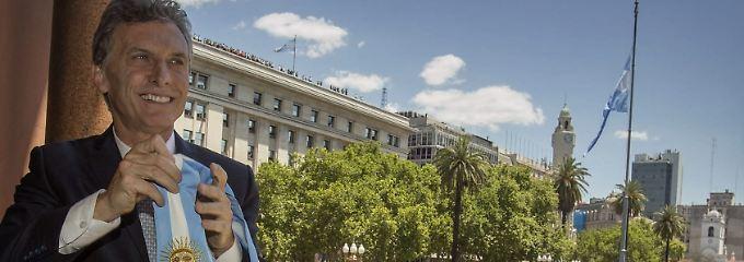 Kurswechsel unter dem neuen Präsidenten Maurizio Macri.