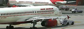 Grausiger Unfall in Mumbai: Flughafenmitarbeiter in Turbine gesaugt