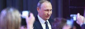 """""""Wladimir Wladimirowitsch?"""": Putin redet sich die Welt, wie sie ihm gefällt"""