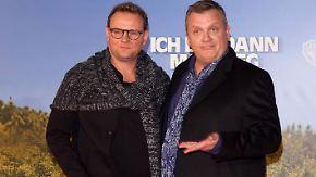 """""""Ich bin dann mal weg""""-Premiere: Devid Striesow schlüpft in Hape Kerkelings Wanderstiefel"""