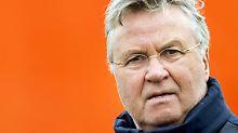 """""""Ich bin begeistert über die Rückkehr an die Stamford Bridge"""": Guus Hiddink."""