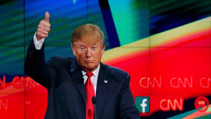 """""""Wenigstens ist er ein Führer"""": Donald Trump über Wladimir Putin."""
