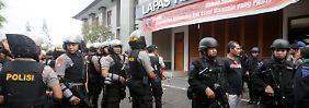 Fünf Dschihadisten verhaftet: Indonesien verhindert Terroranschlag