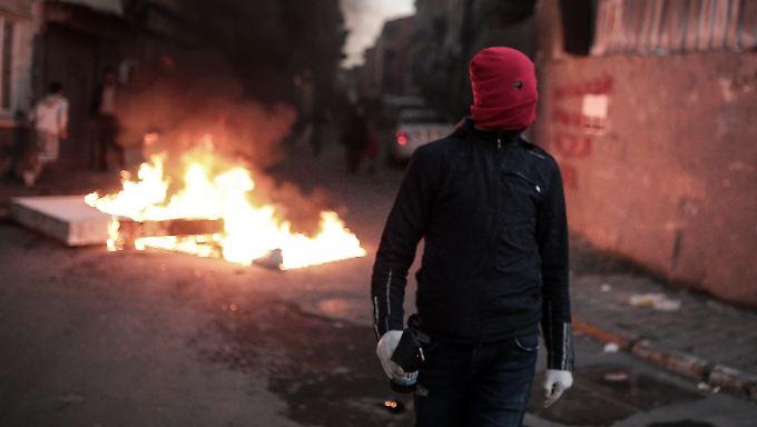 Alltag im Südosten der Türkei: Seit Wochen kommt es zu schweren Gefechten zwischen der Armee und PKK-Anhängern.