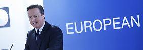 """Kompromiss in """"Brexit""""-Debatte?: EU plant """"Notbremse"""" für Sozialleistungen"""