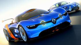 Renault trommelt mit einer Studie für die Rückkehr von Alpine.