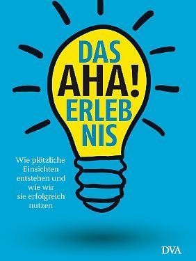 """""""Das Aha-Erlebnis"""" von John Kounios und Mark Beeman ist 2015 in der Deutschen Verlagsanstalt erschienen und kostet 19,99 Euro."""