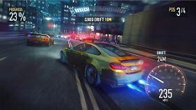 """""""Need For Speed: No Limits"""" ist eines der grafisch anspruchsvollsten Spiele in Google Play."""