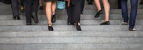 Der Anteil an Frauen in den Vorständen deutscher Dax-Unternehmen liegt derzeit bei 4,8 Prozent.