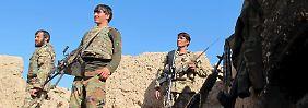 18.000 afghanische Regierungssoldaten sind mittlerweile offiziell in Helmand stationiert.