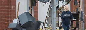 Bundesweite Automaten-Sprengungen: Haftbefehle gegen drei Verdächtige