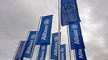 56%-Chance bei Kursrutsch auf 128 €: Allianz im Abwärtstrend
