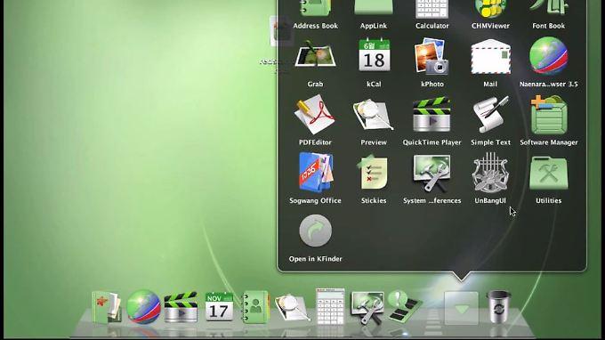 So sieht Nordkoreas Red Star OS aus.