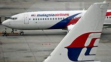 Panne bei Malaysia-Airlines: Jet fliegt in falsche Richtung