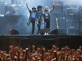 Motörhead bestand zuletzt aus Phil Campbell, Lemmy Kilmister und Mikkey Dee.