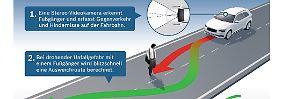 Ein Assistenzsystem von Bosch soll Autofahrer in der Zukunft bei Ausweichmanövern unterstützen.