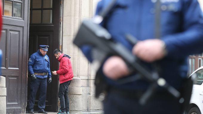 In Brüssel werden verstärkt Personen kontrolliert.