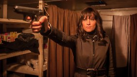 Darf auch mit einer Waffe rumfuchteln: Helene Fischer.