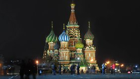 Der Rote Platz in Moskau (hier 2012) bleibt in diesem Jahr zu Silvester gesperrt.