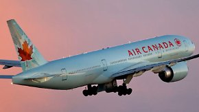 """""""Höllenflug"""" mit Air Canada: Heftige Turbulenzen schleudern Passagiere aus den Sitzen"""