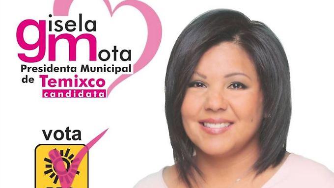 Gisela Mota wurde erst einen Tag vor ihrem Tod zur Bürgermeisterin gewählt.
