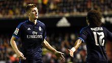 + Fußball, Transfers, Gerüchte +: Real Madrid kann Barças Patzer nicht nutzen