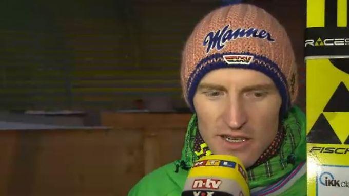 """O-Töne zum Skispringen: Freund: """"Ich hätte eine bessere Leistung bringen können"""""""