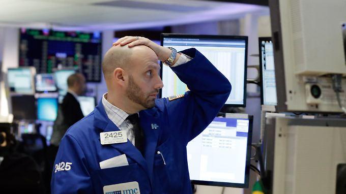 Der Start ins neue Jahr ging auch an der Wall Street gründlich schief.