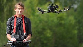 Daniel Gurdan ist einer der Geschäftsführer von Ascending Technologies.