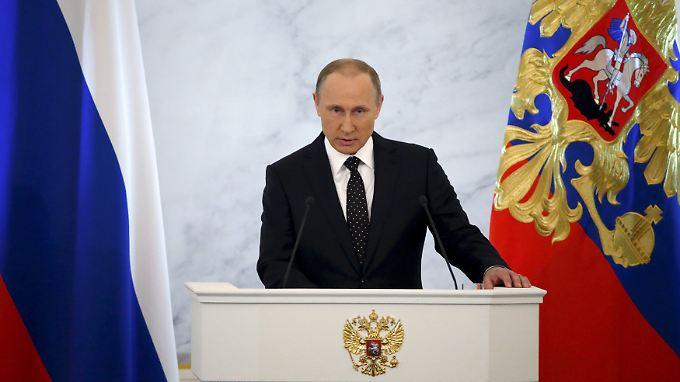Wladimir Putin nahm im Jahr 2007 erstmals an der Münchener Sicherheitskonferenz teil.